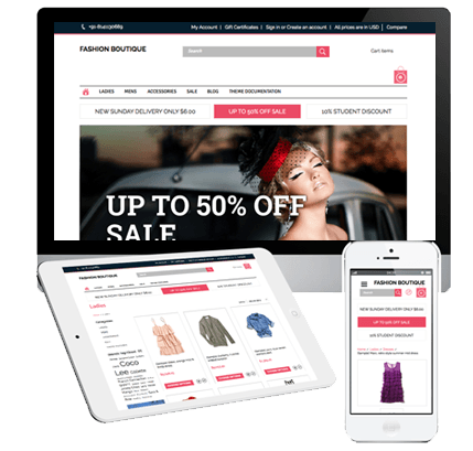 BigCommerce Theme Design